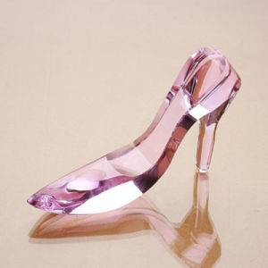 Cinderella′s Glass Slipper Shining Crystal Shoes of Special Gifts Home Paperweights pictures & photos