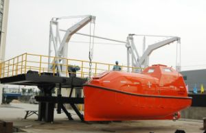 Solas Approved Free Fall Encolsed Life Boat for Ship Lifesaving pictures & photos
