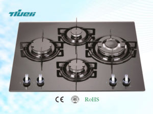 Popular Gas Hob with Aluminum Burners/Trg4-605