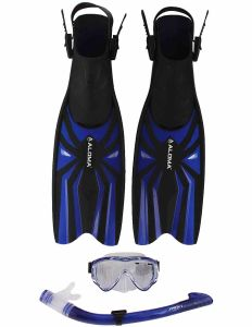 Kid′s Mask, Snorkel&Fins Combo Set (AM-100J+AF-304JS+AF-700)
