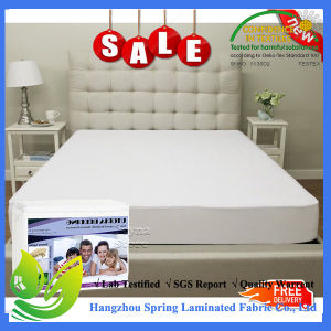 Single Waterproof Mattress Protector 100% Cotton pictures & photos
