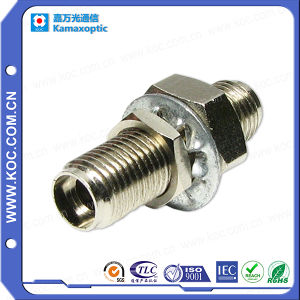 SMA Simplex Metal Fiber Optic Adapter pictures & photos