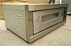 Luxury Electric Single Deck Baking 1 Layer and 1 Tray Electric Deck Oven (ZBB-101D) pictures & photos