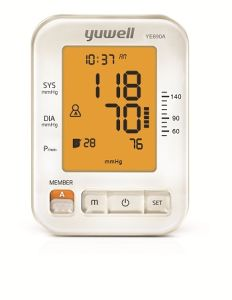 Arm-Type Electronic Blood Pressure Monitor with Ce ISO pictures & photos