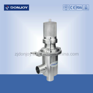 Ss 316L Sanitary Pneumatic Pressure Reducing Valve T-Type Clamped Ends pictures & photos