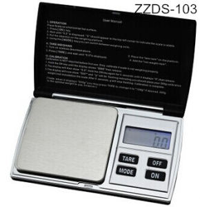 Touch Screen LED Display Digital Pocket Scale pictures & photos