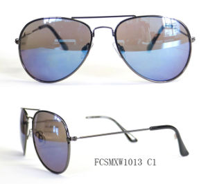 Premium Quality Pilot Design Classical Metal Sunglasses for Unisex pictures & photos