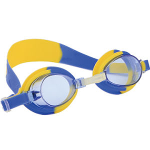 5effa2826453 China Children′s Swim Goggles with Rainbow Mirror Anti-Fog UV Protection Lens  Silicone Strap   Gasket - China Swim Goggles