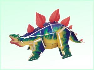 Kids DIY Dinosaur 3D Puzzle Intellectual Toy (H4551341) pictures & photos