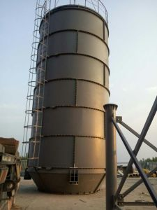 China Cement Tank 50 100ton Cement Silo In Concrete Batching Plant
