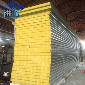 Glass Wool Colour Steel Sandwich Panel for Prefabricated House