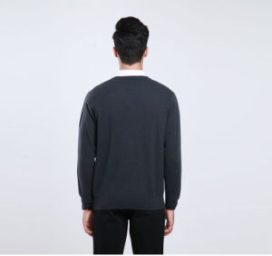 Yak Pullover V Neck Garment/Cashmere Knitwear/ Yak Clothing/Sweater pictures & photos