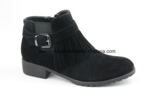 New Arrvial Tessels Design Lady Ankle Boots for Winter pictures & photos