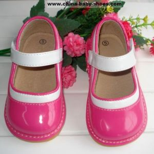 214ecd5ad1c62 Hot Pink Baby Girl Squeaky Shoes