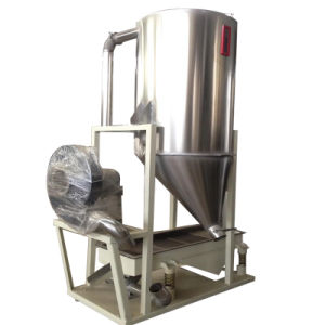 Plastic Vibrating Sieve Machine with Storage Hopper Together