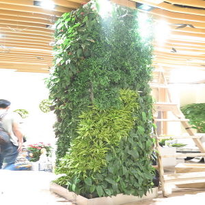 High Quality Artificial Plants and Flowers of Green Wall Gu-Wall0981252969