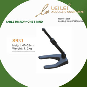 Ajustable Table Microphone Stand Base (SB31) pictures & photos