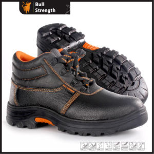 Industrial Leather Safety Boots with Rubber Sole (SN5412) pictures & photos