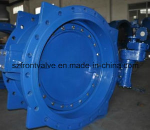 Cast Iron /Ductile Iron Flanged Butterfly Valves pictures & photos