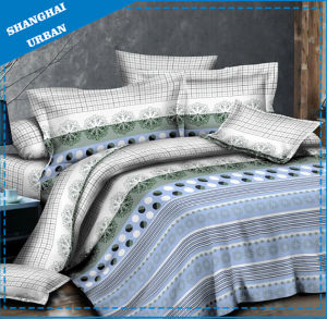 Home Textile Duvet Cover 250tc Cotton Linen Bed Cover pictures & photos