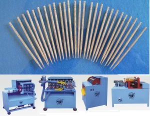 Wood Bamboo Toothpick Making Machine Processing Manufacturing Production Line