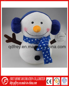 Hot Sale Plush Snowman Toy for Baby Promotion Gift pictures & photos