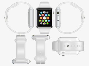 380 mAh Buttery Front Camera Doremi Smart Watch for Entertainment