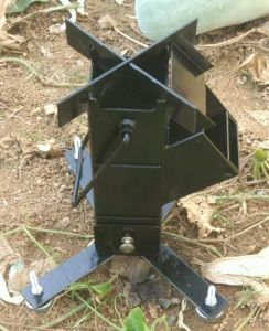 Camping Wood Stove Portable Mini Wood Rocket Stove