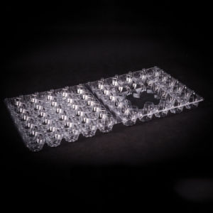 high quality disposable OEM food blister packaging tray(egg tray) pictures & photos