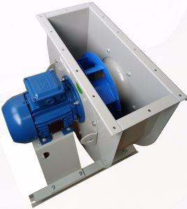 Industrial Backward Steel Cooling Ventilation Exhaust Centrifugal Fan (225mm)