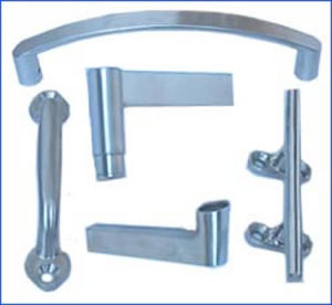 Precision Casting Stainless Steel Construction Hardware Door Handle pictures & photos