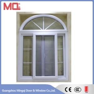 PVC French Sliding Window with Grille Design