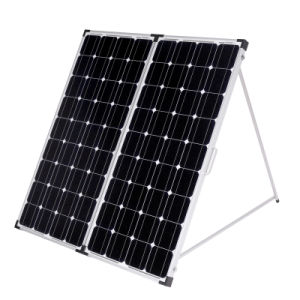 200W (2PCS X100W) Foldable Monocrystalline Silicon Solar Panel