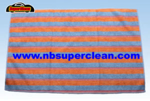 China Supply Cheap Microfiber Stripe Kitchen Towel (CN3657) pictures & photos