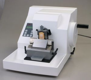 Semi Automatic Microtome pictures & photos