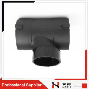 PE Plastic Three Way Waste Water Pipe Elbow pictures & photos