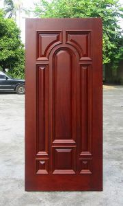 American Style Solid Wooden Door with Complicated Craftmanship pictures & photos