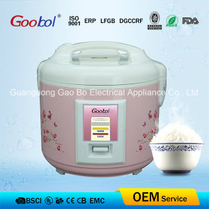 Flower Printing Full Body Deluxe Rice Cooker pictures & photos