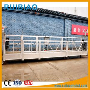 Zlp800 Carbon Steel Suspended Platform with Power Cable pictures & photos