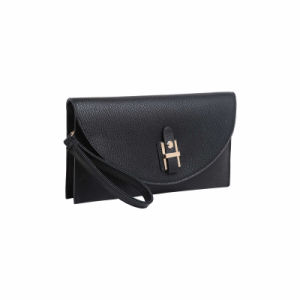 Noble Style Metal Front Fashion Women Clutch Bag (MBNO041119) pictures & photos