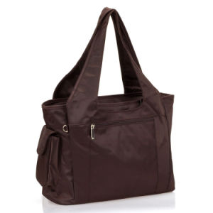 Black Multifunction Mom Bag with Big Capacity Volume