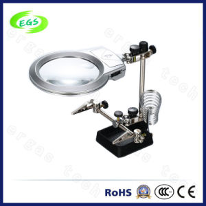 LED Magnifiering Lamp, ESD Safe Magnifer Lamp, 3X 5X 8X 10X Magnifier Lamp pictures & photos