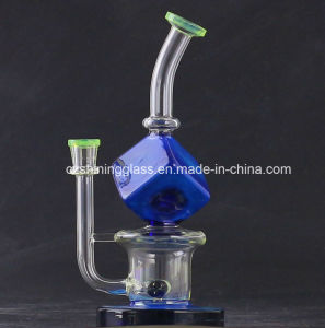 Fashion Colorful Style Middle Glass Water Pipes Smoking Oil Rigs pictures & photos