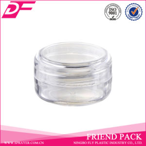 Yuyao Factory Jar Cosmetic Cream Plastic Transparent Jar
