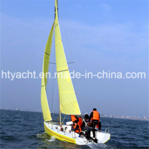 21′ Fiberglass Dibley Sailing Boat Hangtong Factory-Direct pictures & photos