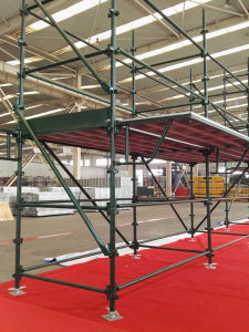 Safe SGS Quick Stage Scaffolding for Construction pictures & photos