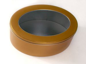 Round Tin Box for Metal Gift Packaging Box, Food Tin Container, Tin Can pictures & photos