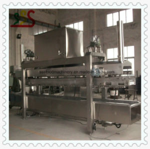 Most Advanced Automatic Continuous Fryer Automatic Frying Machine with Oil Filter
