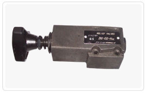 Hydraulic Valves-Pressure Control Valves, Direct Type Relief Valves