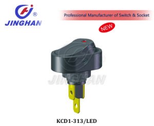 Kcd1-313/LED 3 Pins-Switch 6A 250VAC/ 10A 125VAC